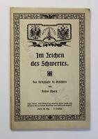 Anton Ohorn Im Zeichen des Schwertes Das Kriegsjahr in Gedichten um 1915 xz