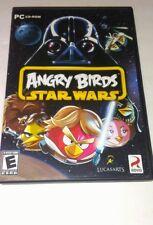 Angry Birds Star Wars (PC, 2012) w/ Key Code - VG+