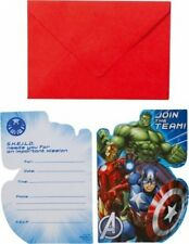 Amscan Avengers Internazionali Inviti e Buste (g2t)