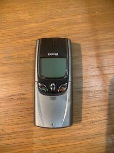 NOKIA 8850 Used Unlocked Rare Vintage Mobile Phone
