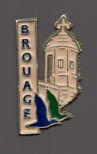Pin's ville de Brouage