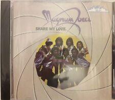 Magnum Force - Share My Love  -  CD Rare- (Album Neuf ) Kelli-Arts   KA7-1-1000