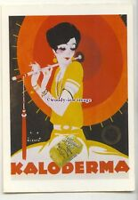 ad1054 - Kaloderma Seife Soaps, Lady with a Parasol - Modern Advert Postcard
