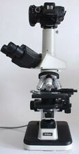 Nikon labophot 2 Microscope camera kit w 0.5x lens 2 Nikon Dx F Apophot Opti Alp