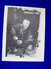 Impulse 1: Fanzine 1972.   Probably Canadian.  Scarce. Wally Wood, Bill Elder..