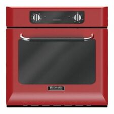 Baumatic BOR600RD Built in Retro Electric Single Oven-Red