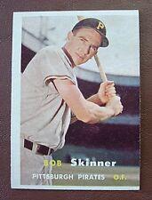 1957 Topps Baseball #209 Bob Skinner//PIRATES//EXMT