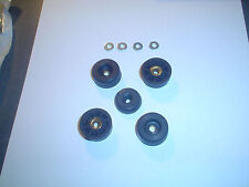 New 4X BLACK THERMOPLASTIC FEET for NAD 3020 3020A 3020i Amplifier (MADE IN USA)