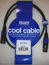 "Blizzard Lighting DMX-3Q ""Cool Cable"" 3' DMX 22 gauge Cable with 3-Pin XLR Ends"
