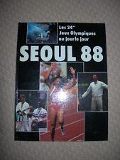 Séoul 1988 - Les 24eme jeux olympiques au jour le jour - Azhar - Boiron
