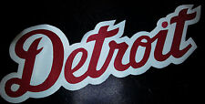 """HUGE DETROIT RED WINGS IRON-ON PATCH - 4"""" x 11"""""""