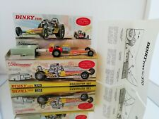 Dinky Toys 370 Dragstar set  in box all original condition excellent