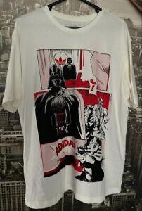 Adidas X Star Wars Darth Vader Cartoon T-Shirt