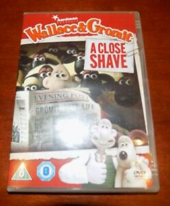 DVD A CLOSE SHAVE WALLACE & GROMIT
