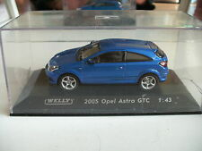 Welly Opel Astra GTC 2005 in Blue on 1:43 in Box