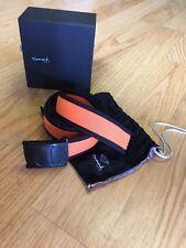Diamond Supply Company Un-Polo Belt Black/Orange OSFA Mens,Accessories,Fashion