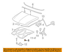 GM OEM Hood-Insulator Retainer 20064875