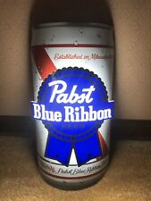 Pabst Blue Ribbon Beer Can Led Lighted Sign New In Box