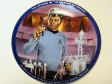Star Trek Dr. Mccoy From The Hamilton Collection Plate 1983 Very Good Condition