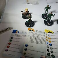 Marvel heroclix lot with cards pre-owned 12 figures 1 duplicate Kristoff