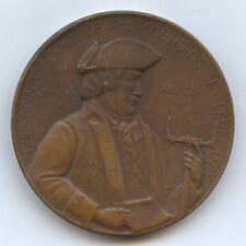 Exonumia Medal 1921 Founding of Cleveland (#9660) Large Medal 51Mm.
