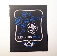 22nd World Scout Jamboree WOOD BADGE REUNION BADGE 2011