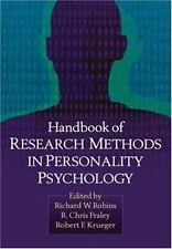 Handbook of Research Methods in Personality Psychology-ExLibrary