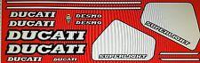 DUCATI 900 SUPERLIGHT MK1 MODEL PAINTWORK DECAL KIT