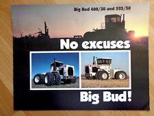 Vintage Big Bud 400/30 525/50 tractor original brochure 8 pgs 1980 **