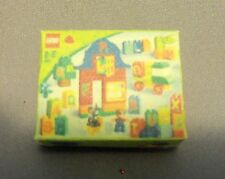 Dollhouse Miniature 1:12 Scale Green Lego Box