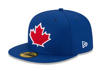New Era 59Fifty MLB Cap Toronto Blue Jays 2017 Alt On Field Fitted Hat - Blue