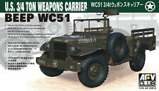 AFV Club 1/35 AF35S15 WWII US BEEP WC51 3/4 Ton Weapons Carrier