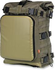 Biltwell Exfil-80 Green Sissy Bar Bag Motorcycle Luggage Harley Camping Tool Bag