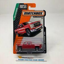 '14 Chevy Silverado 1500 #29 * RED * Matchbox * JD5