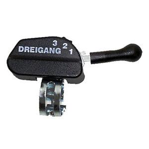 Lenkerschalter für SRAM/SACHS SPECTRO T3 und Torpedo Dreigangnabe, Klick Trigger