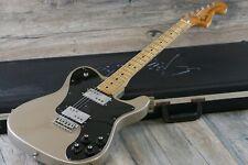 Vintage! 1973 Fender Telecaster Deluxe Shoreline Gold + OHSC