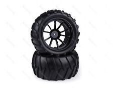 08010 Black HSP 1/10 Nitro Monster Truck Chrome Wheel  Redcat Amax