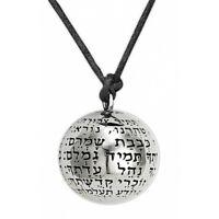 Amulet Kabbalah Ana Bekoach Medallion Jewelry Ball Sterling Silver Talisman