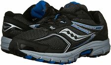 Saucony Men's Cohesion TR9 Trail Running Black/Royal Blue Shoe Sneakers (NEW)