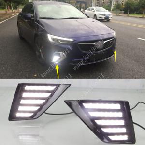 For Buick Regal GS 2018-2020 LED Daytime Running Light DRL Front Fog Light