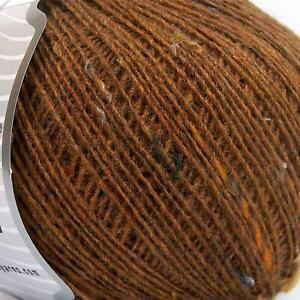 CARAMEL POP TWEED, 50 % WOOL winter Knitting Wool ( 400 Gr ), use on 3 mm