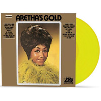 Aretha Franklin Aretha Gold Exclusive Limited Edition Lemon Lime Yellow Vinyl LP