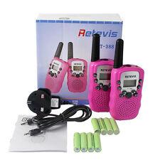 Retevis RT-388 Kid Walkie Talkie PMR446 2-Way Radio Rechargeable Children Gift