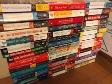 Lot of 10 Mary Higgins Clark Mystery Suspense Thriller Novel Books Paperback MIX