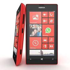 Nokia Lumia 520 8GB Red Sim Free Unlocked Grade A Microsoft Windows Smartphone