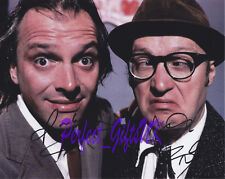 BOTTOM X2 ADRIAN EDMONDSON RICK MAYALL SIGNED AUTOGRAPHED 10X8 PP PHOTO PRINT