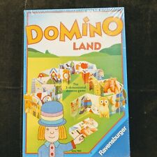 Domino Land Ravensburger Game 3D Matching Educational New Sealed 1995 Vintage