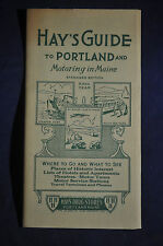 1949 Hays Drug Store Guide to Portland and Motoring in Maine