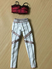Barbie My Scene Kennedy Doll Street Style Outfit Red Top White Pants Rare
