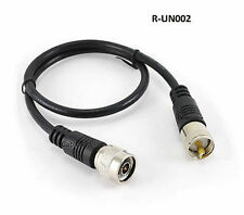 2ft RG8x Coax UHF (PL259) to N-Type M/M Antenna Cable - CablesOnline R-UN002